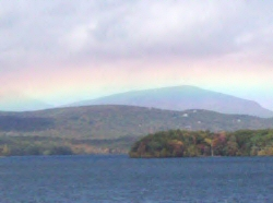 Rainbow over the Ashokan Reservoir